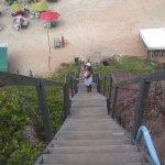 Hay que bajar grandes escaleras