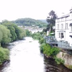 Looking East over the River Dee