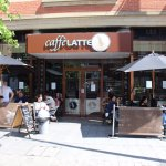 External pic of Caffe Latte in Ripple Road. Part of Vicarage Field Shopping Centre