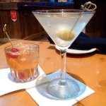 Old Fasioned and Dirty Martini.  Awesome!
