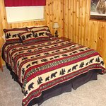 Bear Cabin QB bedroom