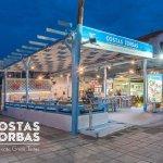 Costas Zorbas Restaurant in Prinos Port