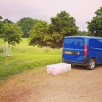 The MrFrisbee Van Mobile shop and hire service