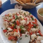 lobster ceviche, a must! and that's a small order!