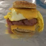 Ham, Egg, and Cheese Biscuit
