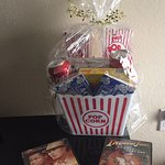Guest Movie Popcorn Gift Basket