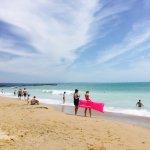 Необыкновенное Чёрное море,чистый пляж,отличный вид из номера