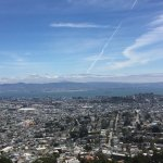 Looking out over the City of San Francisco