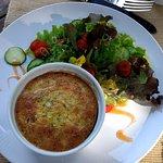 Hartzell House: Savory Egg Custard