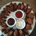 Chicken wings..good!