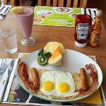 """Breakfast on a Crepe"""