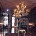 Restored reception room