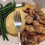 Shrimp and Grits at Bahama Breeze