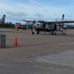It is a 15-minute plane ride from Belize City to San Pedro airport.