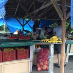 A fruit & vegetable stand is also not far from the resort.