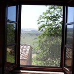 View of vineyards and hills from Master bedroom - great breezes too!