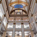 Old Marshall Field's - Louis Comfort Tiffany's Favrile glass ceiling in the South Building