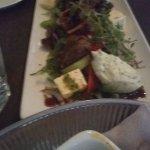 Main carpaccio salad entree