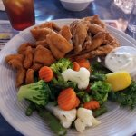 All you can eat Catfish and Frog Legs !