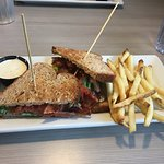 BLT with fries, $6
