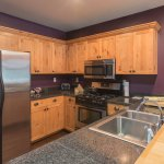 Unit 8 Kitchen, fully-equipped with everything you need for a gourmet meal.