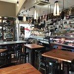 Wine room, salumeria, pasticceria, and ristorante
