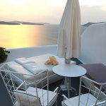 New towels placed every night for you to awake and bathe in the Santorini sunshine...