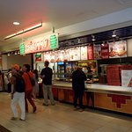 the full counter at Sbarro in the Makai Market food court at the Ala Moana Center
