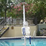 this is the pool lift for those with reduced mobility