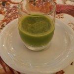 mini asparagus soup