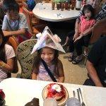 Birthday Pancake and Hat for Kayli