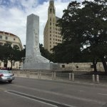 Monument to the fallen of the Alamo