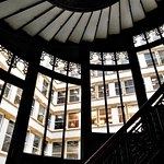 The Rookery - Burnham & Root's fancy interior fire escape