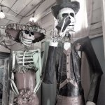 Skeletons in the eatery!