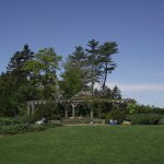 COASTAL MAINE BOTANICAL GARDENS - BOOTHBAY, MAINE - THE GAZEBO
