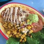 Veggie Chicken Plate
