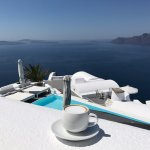Cappuccino served with a view!