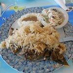 pork ribs & saurkraut