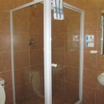 private shower in each room