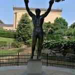 Photo of Rocky Statue