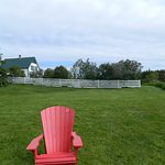 PEI National Park red chair