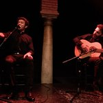 Flamenco vocalist and guitarist