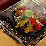 Our sizzling Tandoori Combo Platter!