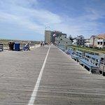Boardwalk at end