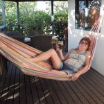 Relax on verandah