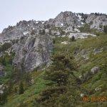 Mountain near parking