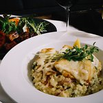 Hapuka caught in Albany can be served on a delicious risotto at Ryan's.