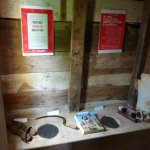 double outhouse in back room