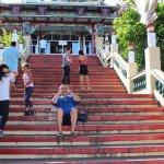 Stairway to Taoist Temple