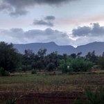 Matheran Hills (Sahyadri Range) clicked from Saguna Baug